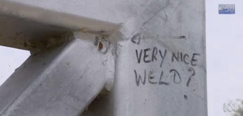 Very nice weld